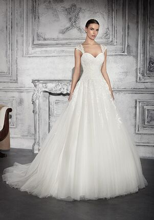 Demetrios 739 A-Line Wedding Dress