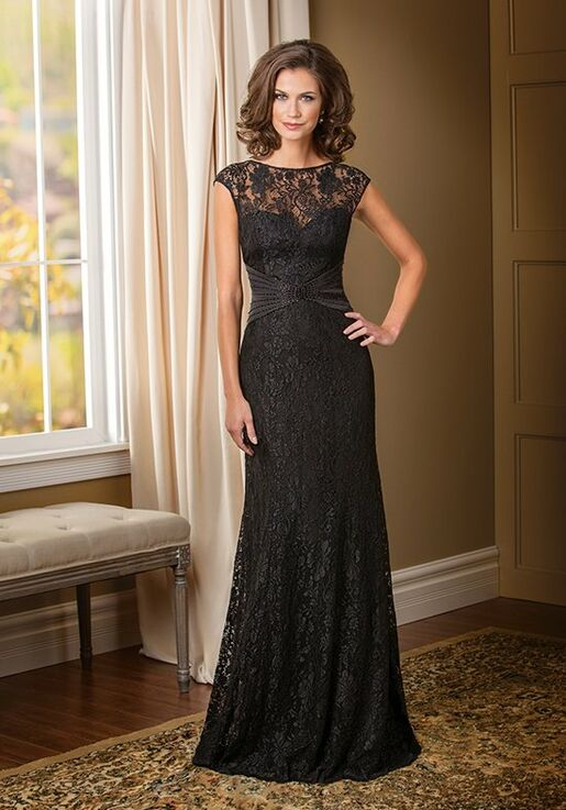 Jade Couture K178010 Black Mother Of The Bride Dress