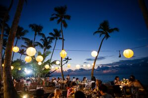 Destination Beach Wedding Reception at Sublime Samana