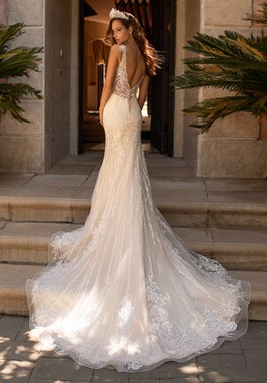 Moonlight Couture H1423 Mermaid Wedding Dress