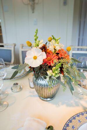 Locally Sourced DIY Floral Centerpieces
