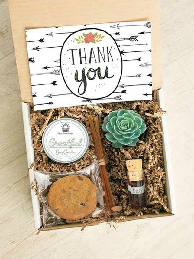 Thank-you gift box