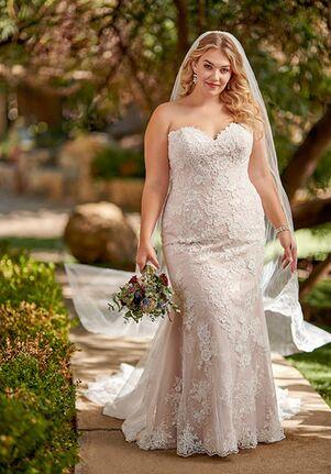 Essense of Australia D2683+ Wedding Dress