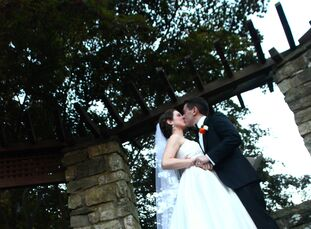 Andrea Lillis (28 and an art director and designer) and TJ Bistany (26 and a GATT support specialist) wanted all the visual aspects of their wedding t