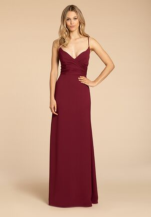 Hayley Paige Occasions 5961 V-Neck Bridesmaid Dress