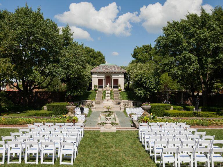 Irwin Gardens wedding venue