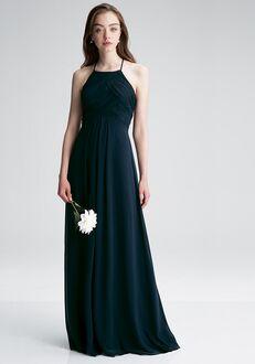 #LEVKOFF 7001 Halter Bridesmaid Dress