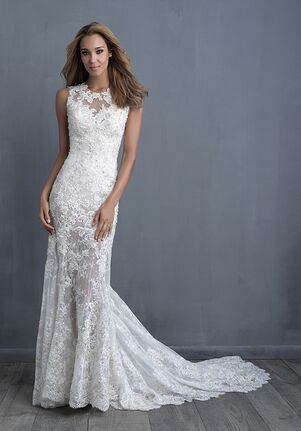 Allure Couture C480 Sheath Wedding Dress