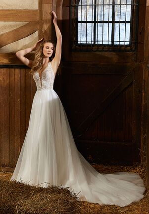 Morilee by Madeline Gardner/Voyage Raven | 6914 Ball Gown Wedding Dress