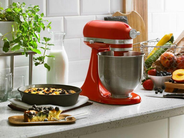 Mini Kitchenaid stand mixer