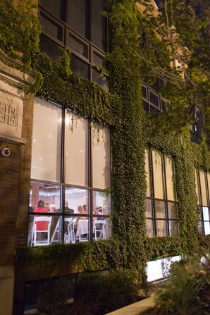 Ivy-Covered Loft Venue at Centered Chef