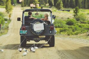 Jeep Getaway Car Ceremony Exit