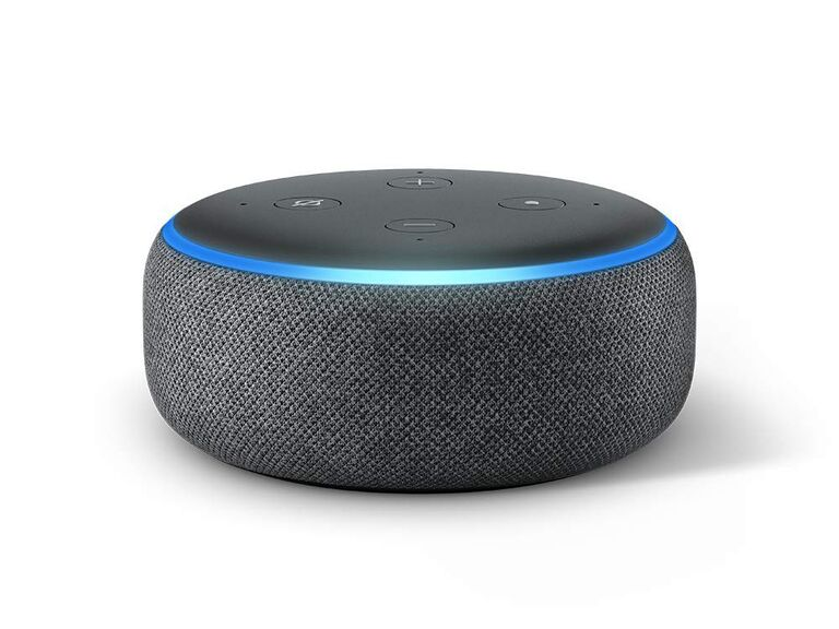 Amazon Echo Dot smart assistant father of the groom gift