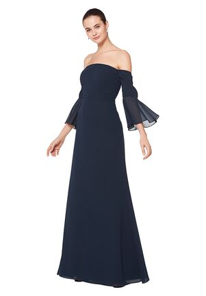 Bill Levkoff 1604 One Shoulder Bridesmaid Dress