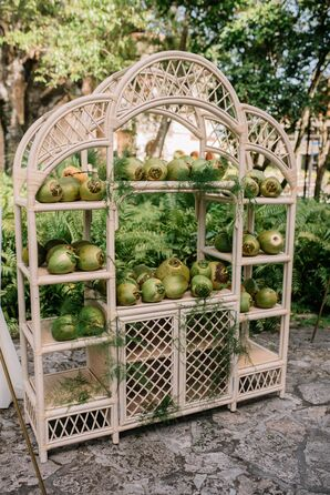 Whimsical Décor with Coconuts