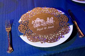 Custom Lasercut Place Card with Horse and Carriage