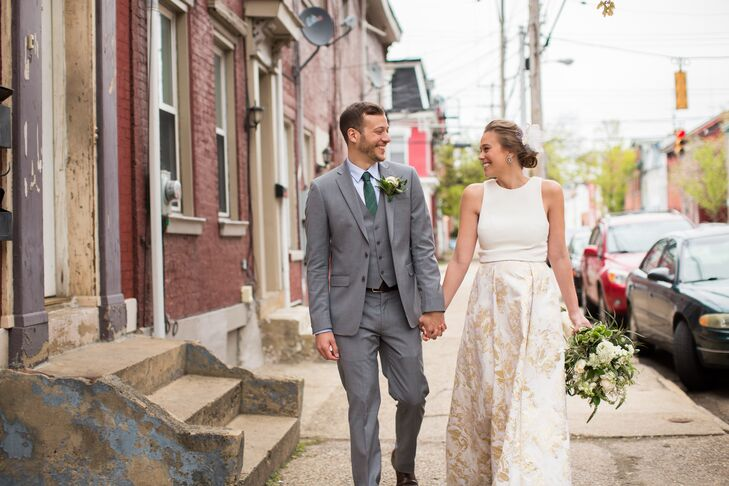 With only two months to plan their wedding, Megan Meyers (29 and an interior designer) and Wade Conceicao (29 and a senior IT sp