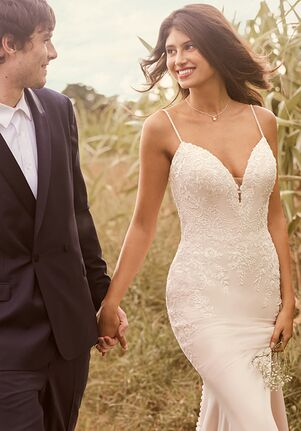 Rebecca Ingram AUBREY Sheath Wedding Dress