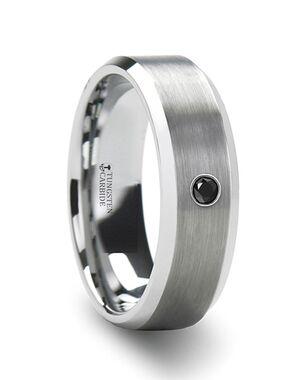 Mens Tungsten Wedding Bands T5422-BPBD Tungsten Wedding Ring