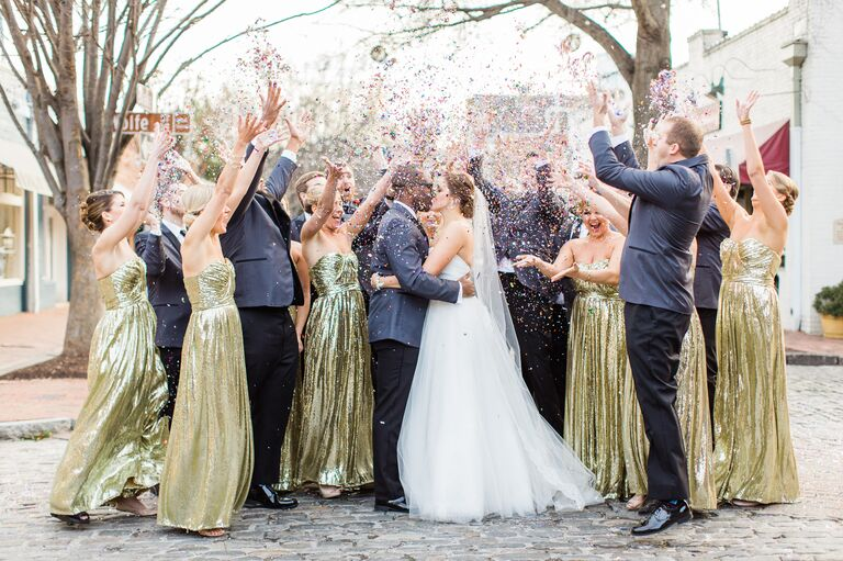 e9eebe4414c4 13 Photos That Prove New Year s Eve Weddings Are Actually the Best