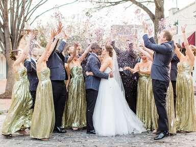 New Year's Eve Wedding at Cobblestone Hall in Raleigh, North Carolina