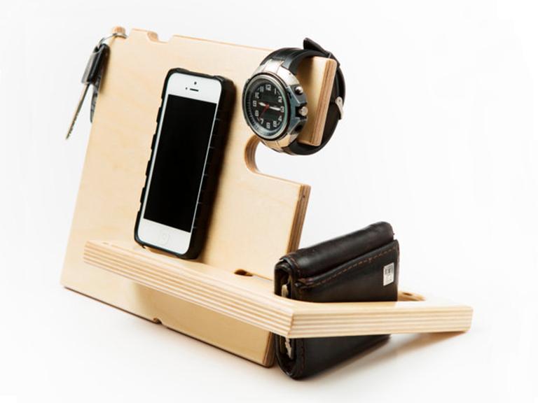 A Phone Docking Station Etsy Dock Best Gift For Husband