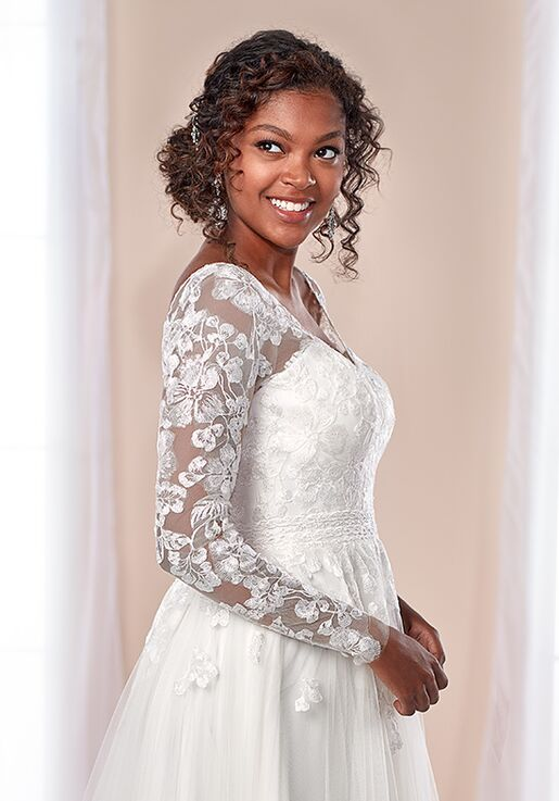 Stella York 7026 A-Line Wedding Dress