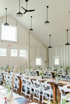 Bohemian Reception at Vera Flora Farm in Gilsum, New Hampshire