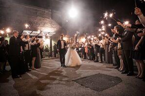 Sparklet Send Off at Front & Palmer Wedding