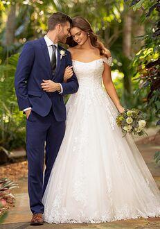 Essense of Australia D3191 Ball Gown Wedding Dress