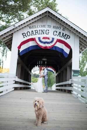 Roaring Camp Railroads Wedding