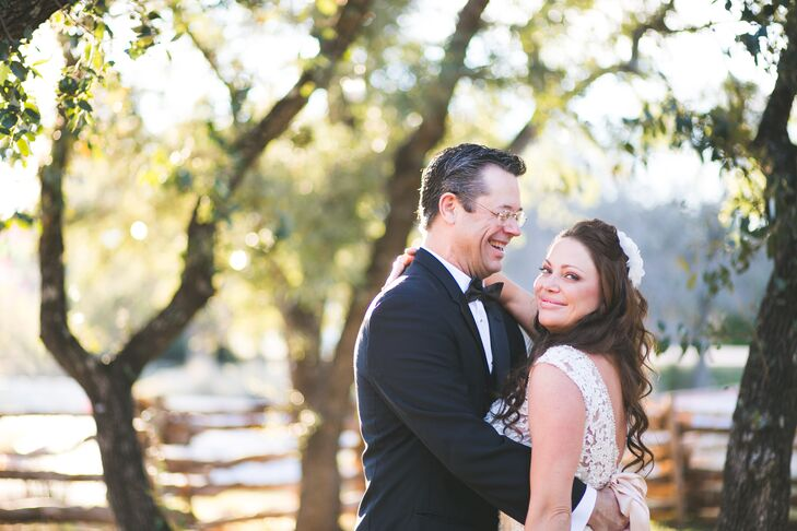 Roxanne Bales (39 and a realtor) and Kevin Bales (53 and a real estate consultant) got engaged on the grounds of Kevin's church. When he got on one kn