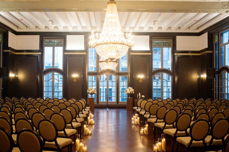 Chicago Athletic Association Wedding Ceremony