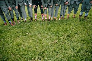 Groomsmen Mismatched Wedding Socks