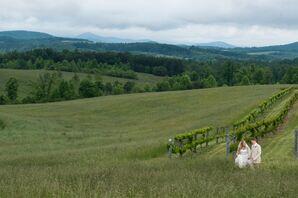 Casual Chattooga Belle Farm Mountainside Wedding