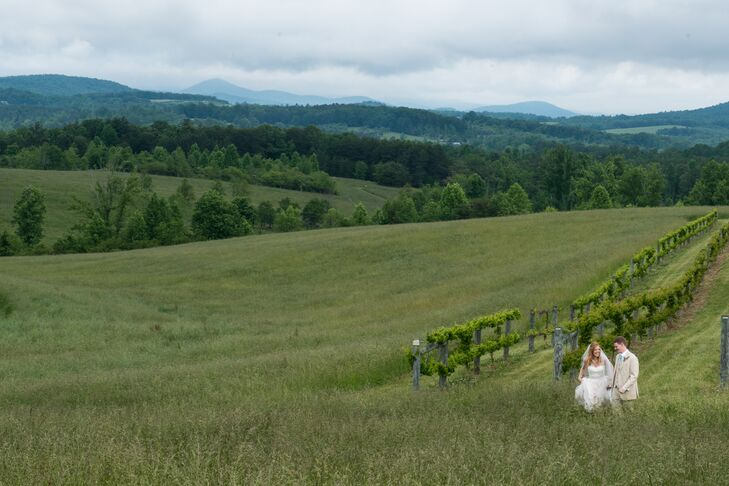 Casual Chattooga Belle Farm Mountainside Wedding