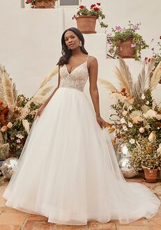 Beloved by Casablanca Bridal BL337 Emerald A-Line Wedding Dress