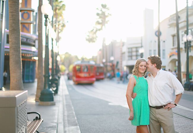 California Adventure Engagement Photo | Brooke Aliceon Photography | From blog.theknot.com