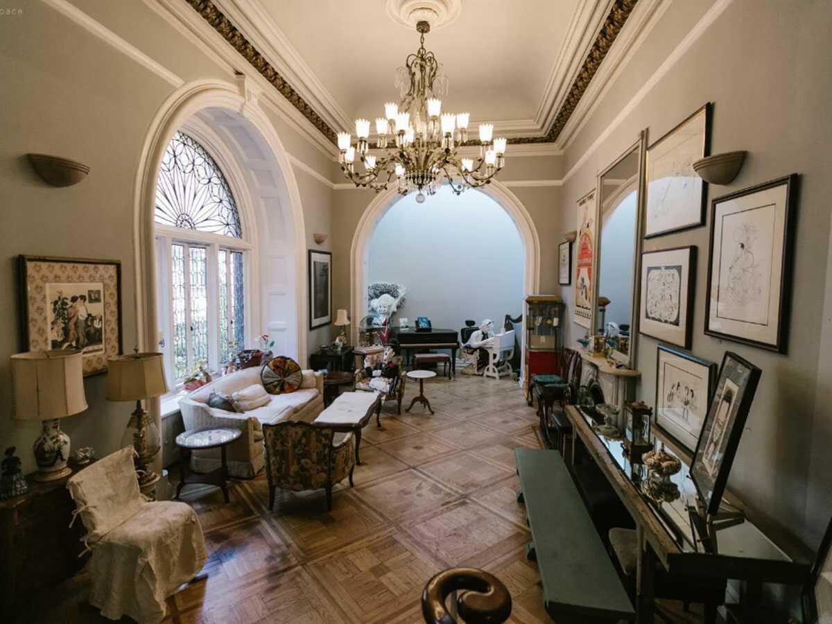 Hallway in the Landmarked Mansion