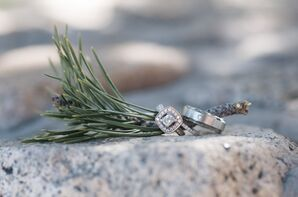 Cushion-Cut Halo Engagement Ring