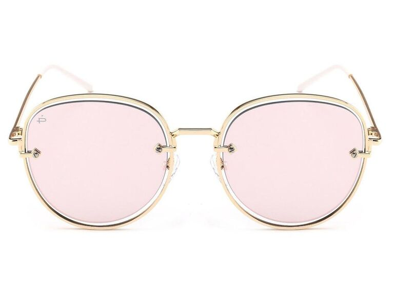 Privé Revaux limited-edition Sweetheart sunglasses in pink