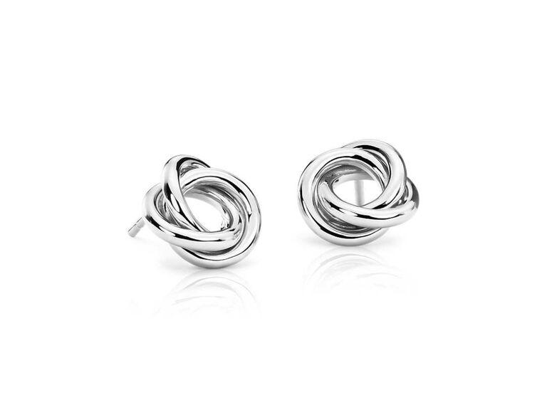Platinum earrings 20th anniversary gift