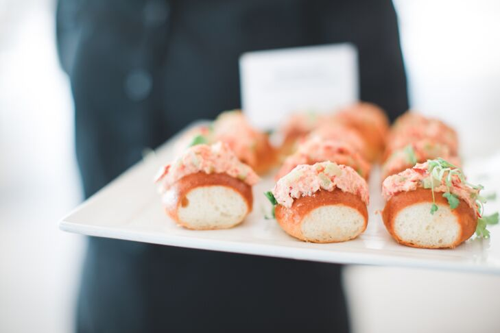 Mini Lobster Roll Hors d'Oeuvres