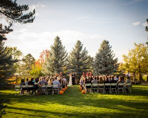 An Outdoor Ceremony in the Fall