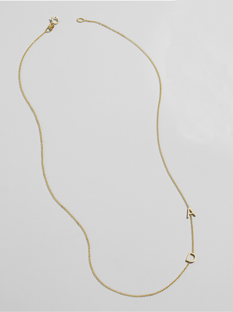 Maya Brenner Asymmetrical Character Necklace Romantic Gift For Wife