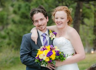 Ashley Rowe (31 and a geriatric social worker) and Oliver Wiersma (31 and an office manager) met at Oliver's work. About 15 months after they started