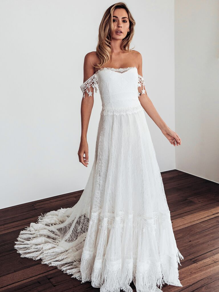 35 Beach Wedding Dresses That Will Actually On The Beach