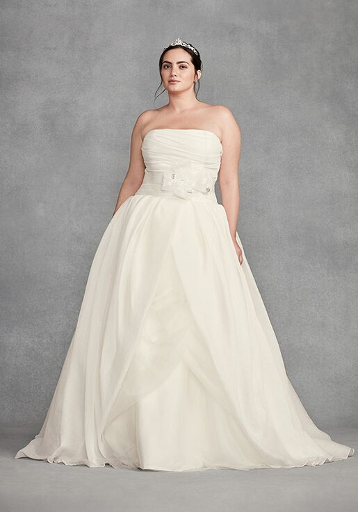 08d40826f81a White by Vera Wang White by Vera Wang Style VW351178 Ball Gown Wedding Dress
