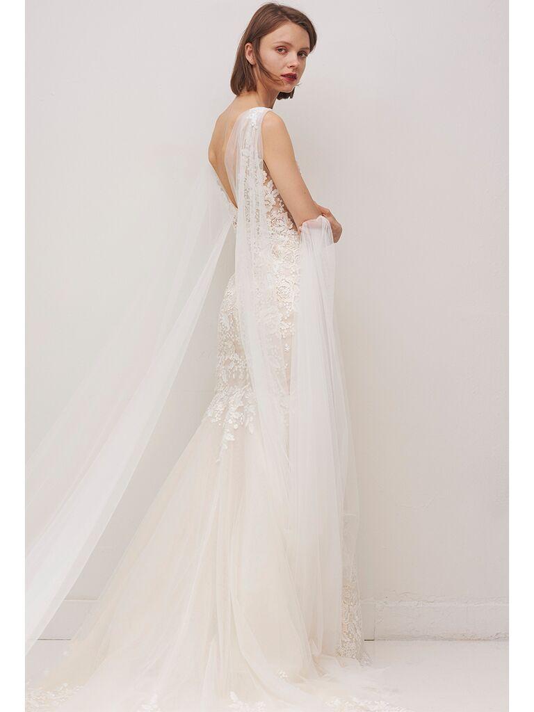 Rivini by Rita Vinieris floral lace gown