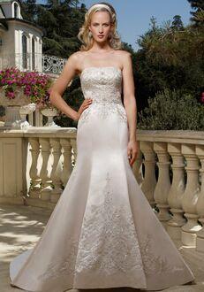 Casablanca Bridal 1985 Mermaid Wedding Dress